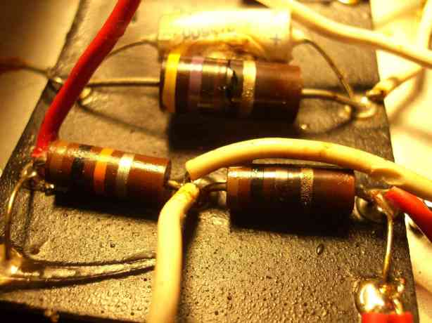 burned-reistors-and-cap
