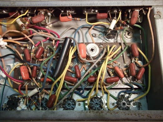 Epiphone Electra repair (28)