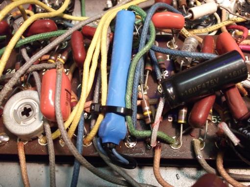 Epiphone Electra repair (41)