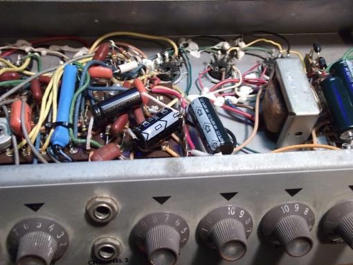 Epiphone Electra repair (43)