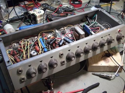 Epiphone Electra repair