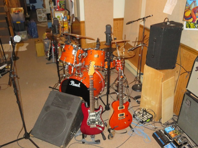 drums and main gtrs flash